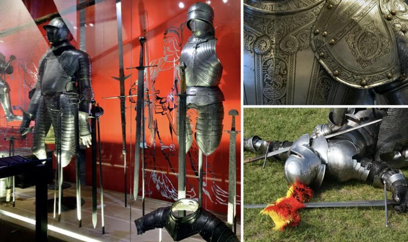 Het Muiderslot - ridders