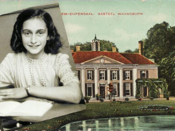 Anne Frank logeerde op Groot Warnsborn
