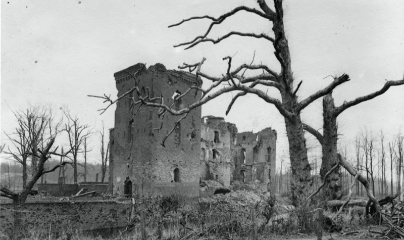 Kasteel Doorwerth na de oorlog