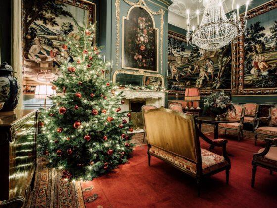 Kastelen in Kerstsfeer
