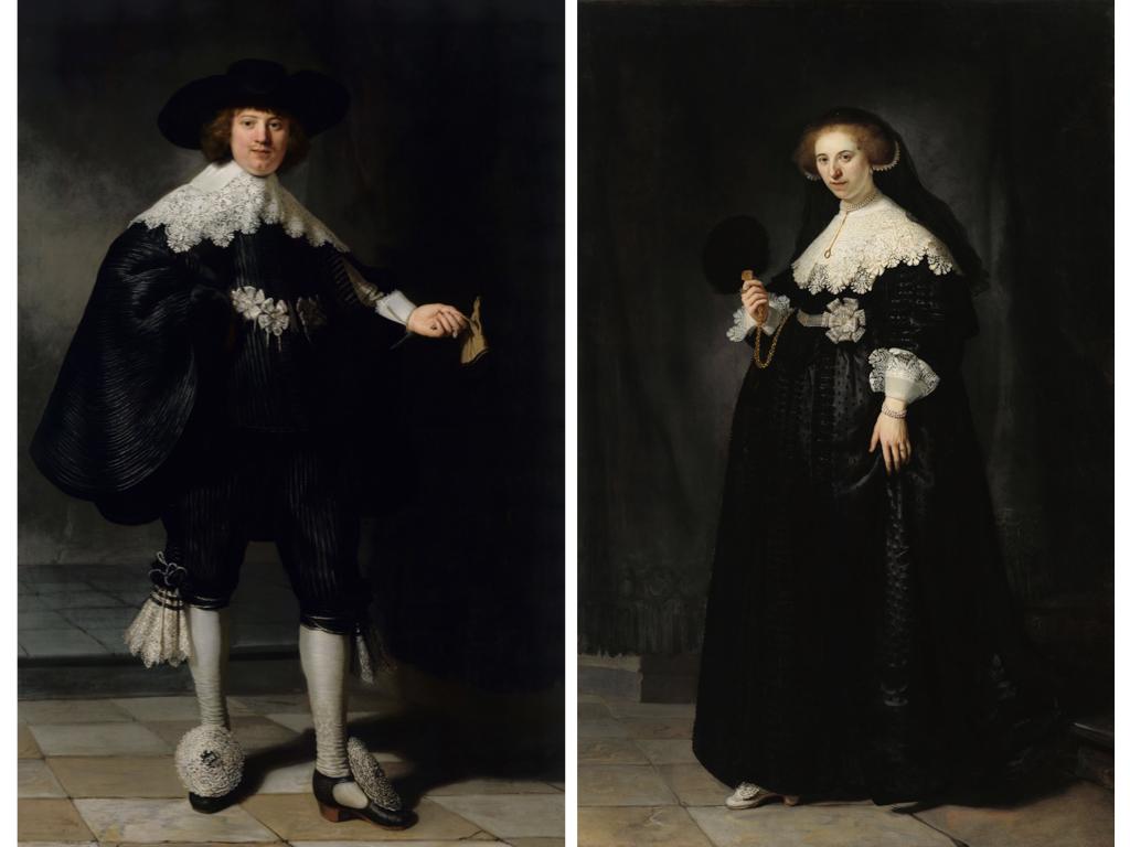 Marten en Oopjen, de beroemde schilderijen van Rembrandt
