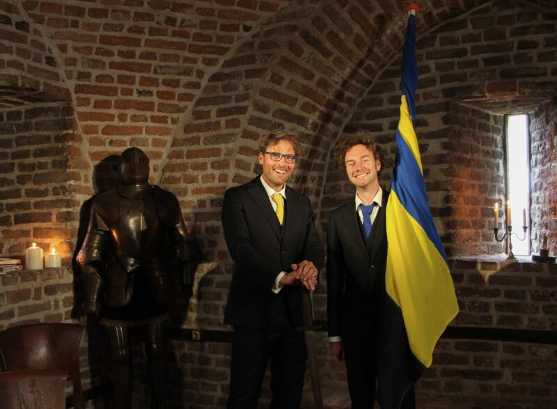 Ridders van Gelre Bas Steman en René Arendsen