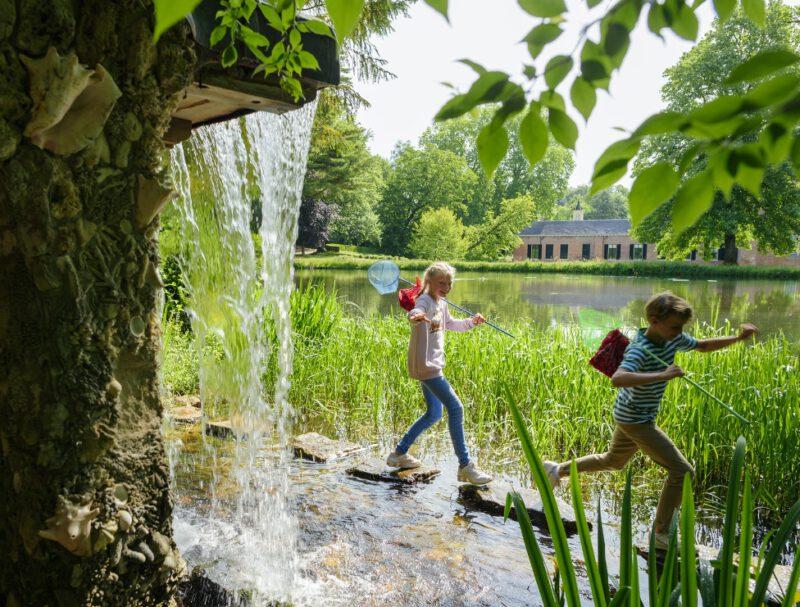 Speuren en spelen in park Rosendael