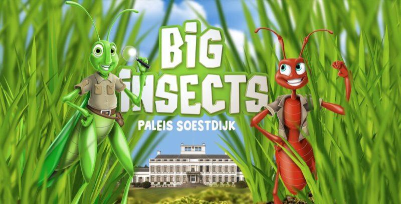 Big Insects bij Paleis Soestdijk