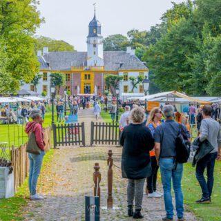 Kunstmarkt Fraeylemaborg - foto: Wilco van der Laan